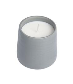 Candle mug grijs