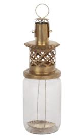 Marokkaanse lantaarn / confiture lantaarn goud S