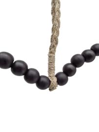 Wandhanger kraal zwart