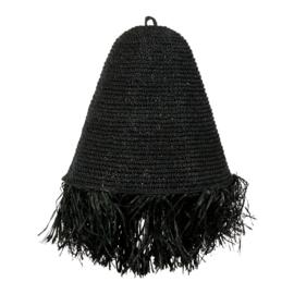 Hanglamp Raffia zwart Mojo M