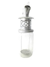 Marokkaanse / Confiture lantaarn maat L Zilver