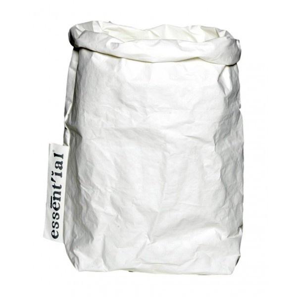 Paperbag / opberger L wit