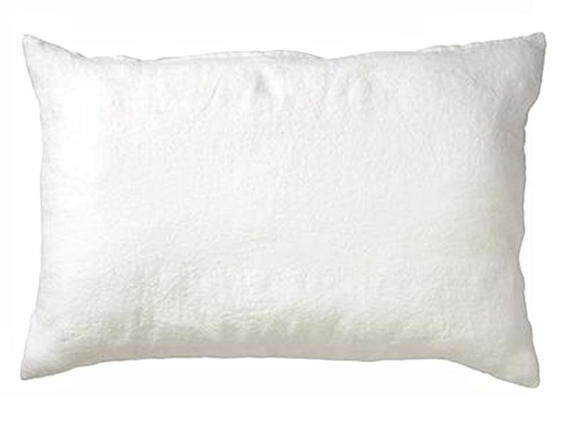Kussen linnen Sneeuw wit 40 x 60