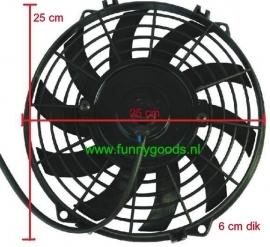 EF-09  Elektrische fan 9 inch (universeel)