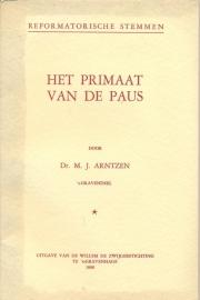 Arntzen, Dr. M.J.-Het primaat van de Paus