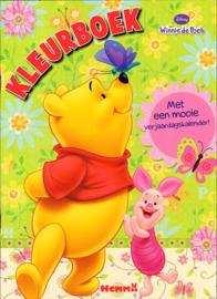 Kleurboek & stickerboek Winnie de Poeh (nieuw)