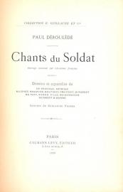 Deroulede, Paul-Chants du Soldat