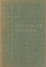Raalte, J. van-Een Losser gegeven