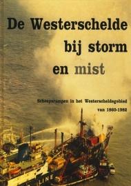 Heijkoop, C.-De Westerschelde bij storm en mist