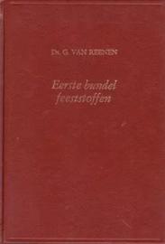 Reenen, Ds. G. van-Eerste en Tweede bundel Feeststoffen