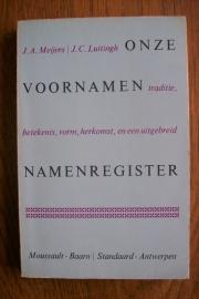 Meijers, J.A. en Luitingh, J.C.-Onze voornamen
