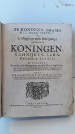 Burmannus, Franciscus-De Koningen Israels