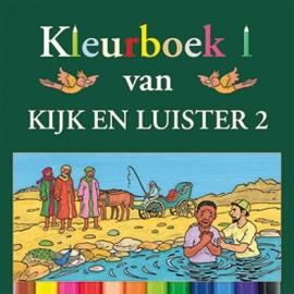 Kramer, Jaap-Kleurboek bij Kijk en Luister 2 (nieuw)