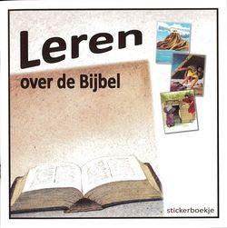 GBS-Stickerboek Leren over de Bijbel (nieuw)