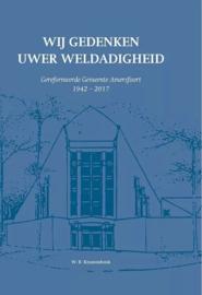 Kranendonk, W.B.-Wij gedenken Uwer weldadigheid (nieuw)