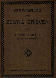 Boot, J.-Verzameling van zestig brieven