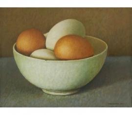Schaaltje met eieren
