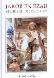 Rijswijk, C. van-Jakob en Ezau strijdend om de zegen (nieuw)