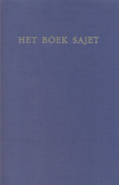 Drees, Dr. W. (voorwoord)-Het boek Sajet