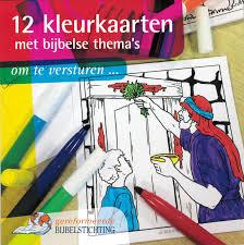 GBS-12 kleurkaarten met bijbelse thema's om te versturen... (nieuw)
