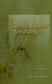 Reenen, Ds. G. van-Tweede bundel Feeststoffen (nieuw)
