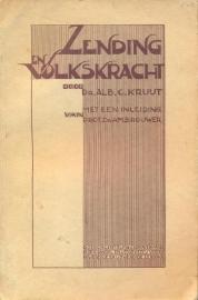 Kruijt, Dr. Alb. C.-Zending en Volkskracht