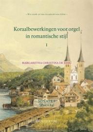 NIEUW: Jong, Margreeth Chr. de-Sonate 1 Psalm 84