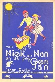 Carla-Van Niek en Nan en de pop Gert Jan