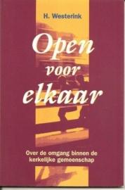 Westerink, H.-Open voor elkaar