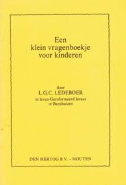 Ledeboer, Ds. L.G.C.-Klein vragenboekje voor kinderen