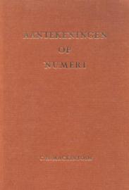 Mackintosh, C.H.-Aantekeningen op Numeri