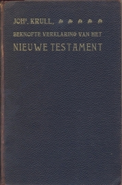 Krull, Johs-Beknopte verklaring van het Nieuwe Testament