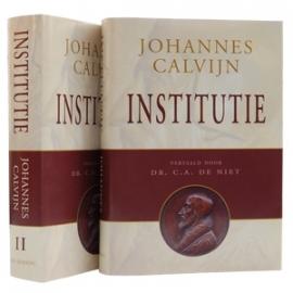 Calvijn, Johannes-Institutie (vertaling dr. C.A. de Niet) (nieuw)