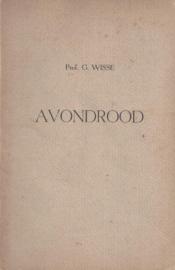 Wisse, Prof. G.-Avondrood