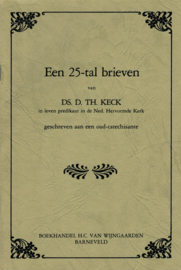 Keck, Ds. D.Th.-Een 25-tal brieven