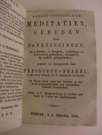 Brakel, Theodorus a-De trappen des geestelyken levens