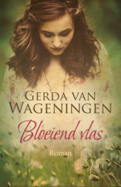 Wageningen, Gerda van-Bloeiend vlas