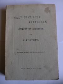 Postmus, J.-Calvinistische Vertoogen