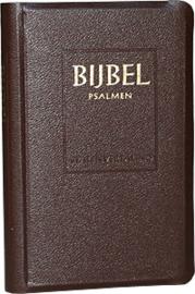 Jongbloed-Bijbel Statenvertaling met Psalmen (bruin) (nieuw)
