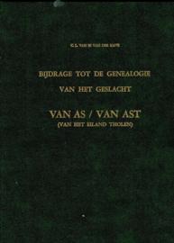 Van Es van der Have, C.L.-Bijdrage tot de genealogie van het geslacht Van As/Van Ast