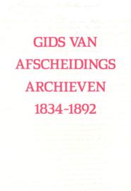 Beek, P. van-Gids van de Afscheidingsarchieven