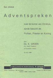Groen, Ds. K.-Adventspreken