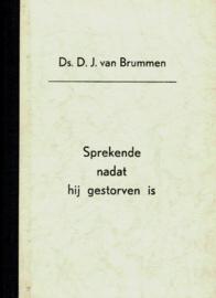 Brummen, Ds. D.J. van-Sprekende nadat hij gestorven is
