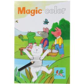 Kikker toverkrasblok-Magic colorbook (nieuw)