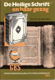 Hoorn, Drs. W. van den-De Heilige Schrift en haar gezag