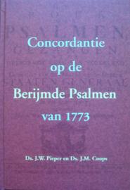 Pieper, J.W. en Coops, J.M.-Concordantie op de Berijmde Psalmen van 1773