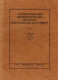 Kievit, Ds. I.-Voorwerpelijke en onderwerpelijke prediking