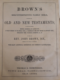 Brown, John-Brown's self interpreting Family Bible