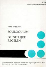 Teellinck, Mr. Ds. W.-Soliloquium