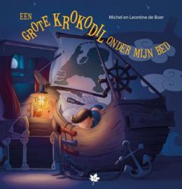 Boer, Michel en Leontine de-Een grote krokodil onder mijn bed (kleurboek) (nieuw)